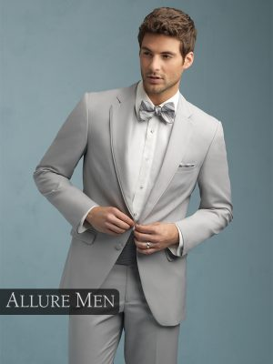Allure Men Cement Grey Bartlett Tuxedo