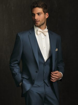 Allure Men Slate Blue Bartlett Tuxedo