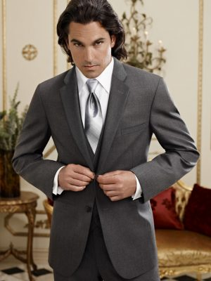 Jean Yves Steel Grey Twilight Suit